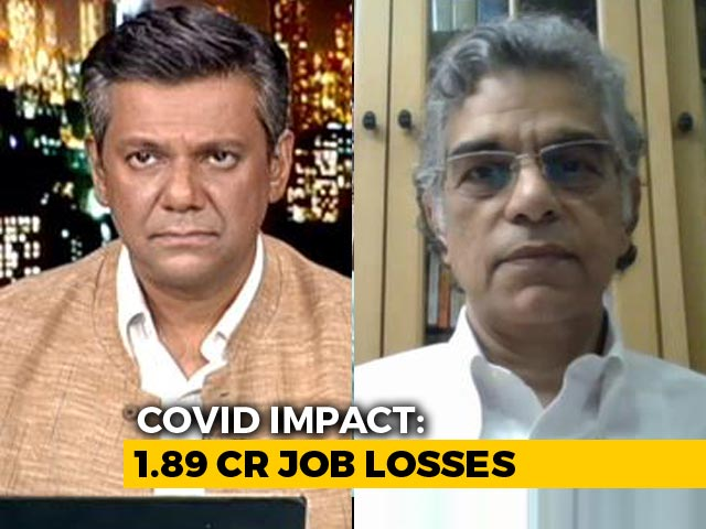 Video : 1.89 Crore Job Losses Since April Amid Pandemic: Report