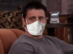 "In Mumbai Police's ROFL Tweet, Joey Tribbiani ""Doesn't Share Masks."" Be Like Joey"