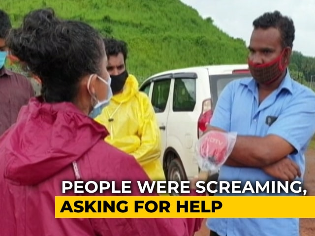 "Video : ""People Were Screaming, Asking For Help"": Locals At Kerala Crash Site"