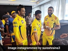 """""""Can't Wait For IPL To Begin"""": Suresh Raina Shares Picture With MS Dhoni, Murali Vijay"""
