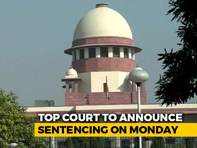 Video : In Prashant Bhushan Contempt Case, Supreme Court To Announce Sentencing On Monday