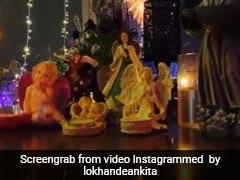 Ankita Lokhande के घर पधारे गणपति, सुशांत सिंह राजपूत के लिए की प्रार्थना, बोलीं- बप्पा तू सब जानता है...