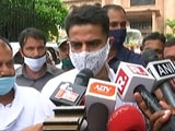 "Video : 'Don't Want To Comment On Seating Arrangement,"" Says Sachin Pilot"