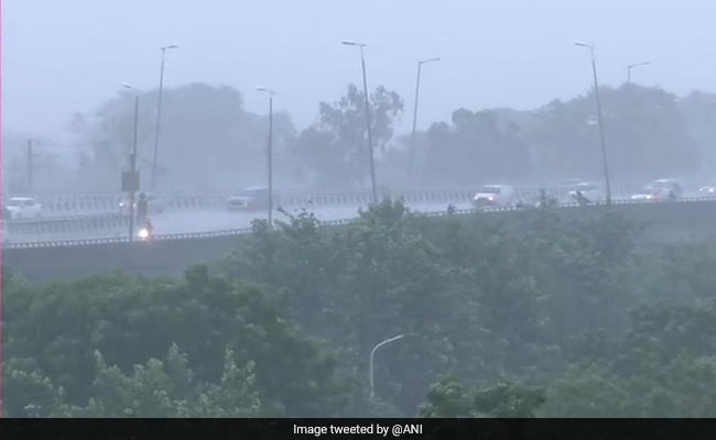 Flooding, Jams In Delhi Amid Heavy Rain, House Collapses