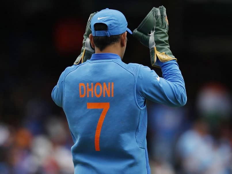 Players, Fans Urge BCCI To Retire MS Dhonis Number Seven Jersey