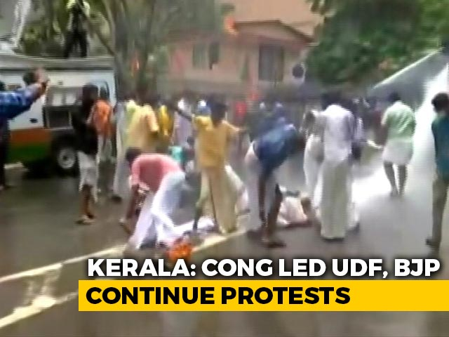 Video : Kerala Government Says Key Files Safe As Opposition Protests Tuesday Fire