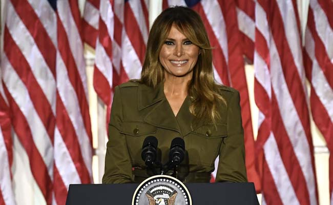 """""""Donald Is A Fighter"""": Melania Trump Hits Campaign Trail For Her Husband"""