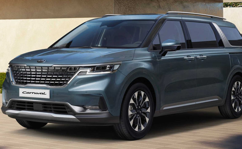 The 2021 Kia Carnival is expected to go on sale globally next year.