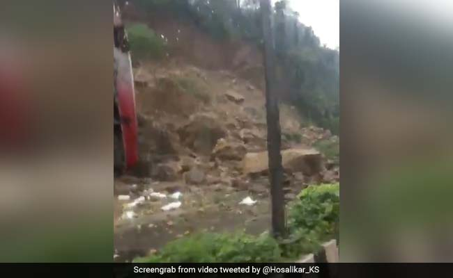 Mumbai Rain Causes Landslide On Western Express Highway, Traffic Diverted