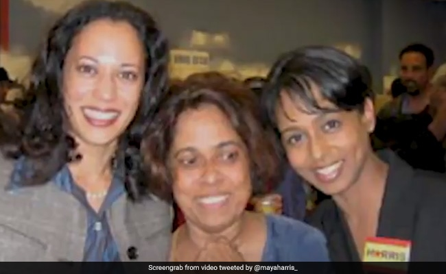 Know Our Mother Ancestors Are Smiling Today Kamala Harris S Sister