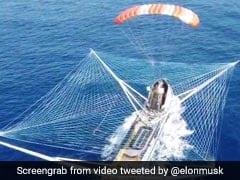 Elon Musk Shares Jaw-Dropping Video Of Ship Catching Falcon 9 Rocket Fairing