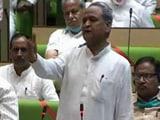 "Video : ""United"" Ashok Gehlot Government Wins Rajasthan Trust Vote"