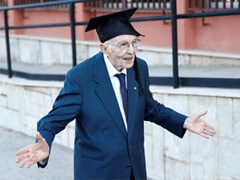 "Knowledge A ""Treasure"" For Italy's Oldest Student Who Graduated At 96"