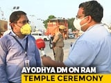 Video : All Covid Protocol to Be Followed for Temple Event: Ayodhya Top Official