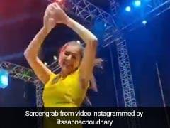 Sapna Choudhary ने पीले सूट में किया जबरदस्त नागिन डांस, Video ने मचाया तहलका