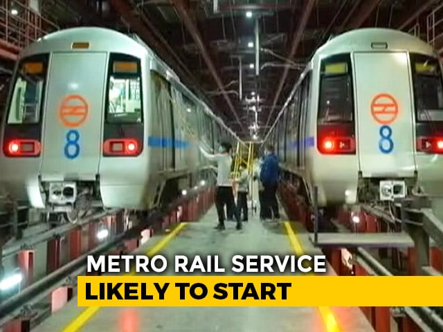 Video : Unlock4: Delhi Metro Likely To Start, Say Sources