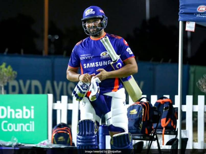 """""""Good To Be Back"""": Rohit Sharma, Other Mumbai Indians Stars Hit The Nets After Quarantine. See Pics"""