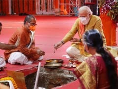 """Ram Belongs To Everyone"": PM Lays Symbolic Brick For Ayodhya Temple - 10 Points"