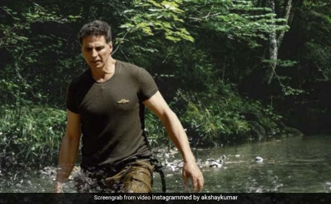 Into The Wild With The 'Legendary' Akshay Kumar - Bear Grylls' Word For Him. The Teaser Looks Crazy