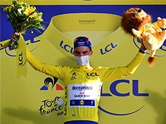 """""""That's For You Dad"""": Julian Alaphilippe Takes Tour De France Yellow Jersey"""