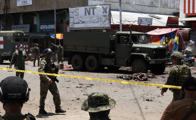 10 Dead, Dozens Wounded In Twin Bombing In Philippines: Military