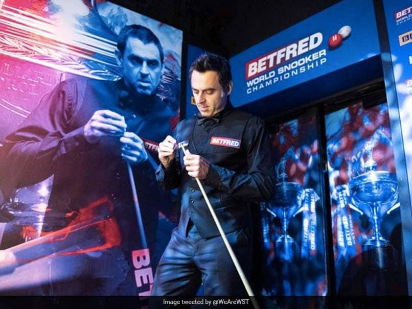 "Ronnie OSullivan Laments World Snooker Championship ""Morgue"" After Beating Ding Junhui"