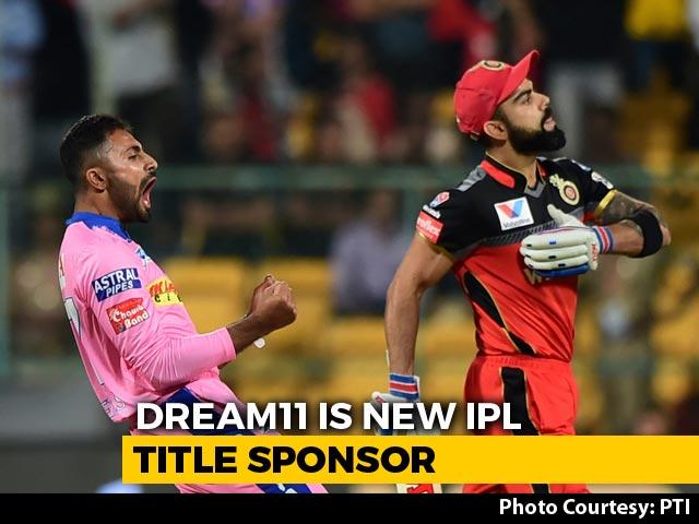 Video : IPL 2020: Fantasy Cricket League Platform Dream11 Named Title Sponsors