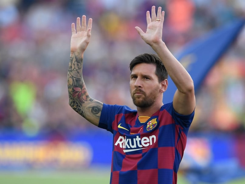 Amid Talk Of Exit, Lionel Messi Features In Barcelonas New Season Home Jersey Promotional Post