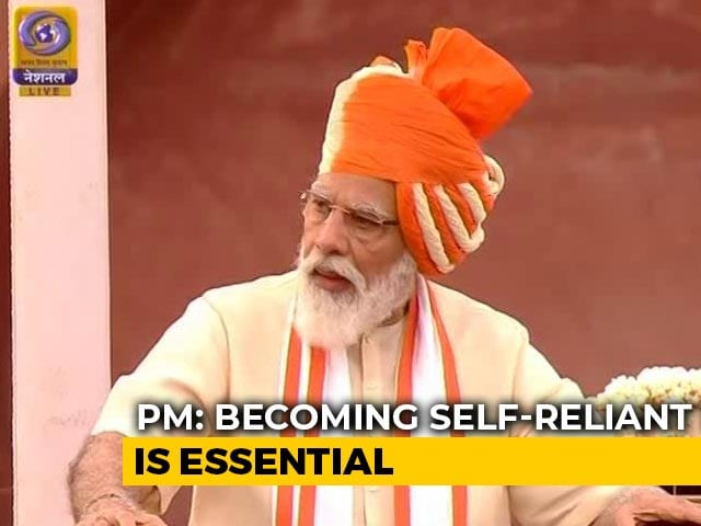 """Video : PM Says """"Self-Reliant India Now Mantra For 130 Crore Indians"""""""