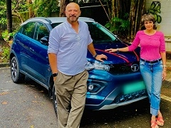 Mandira Bedi Gifts Herself A Tata Nexon EV