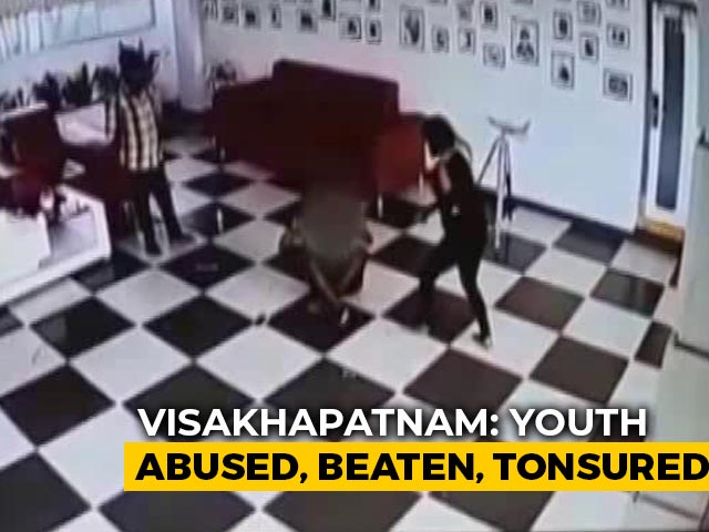 Video : Andhra Man Beaten, Head Shaved Over Alleged Theft At Filmmaker's Home