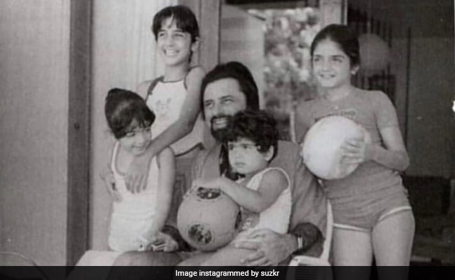 Hrithik Roshan Left This Adorable Comment On Sussanne's Throwback Post