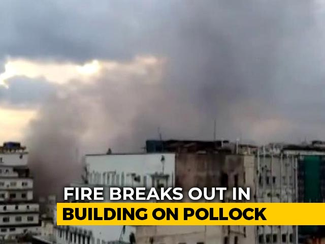 Video : Fire Breaks Out At A Building In Kolkata, 10 Fire Tenders On Spot