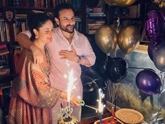 "Here's How Kareena Kapoor Wished The ""Sparkle"" Of Her Life Saif Ali Khan On His 50th Birthday"