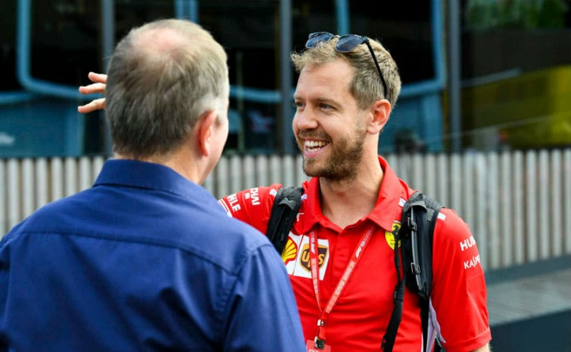 Vettel had joined Ferrari in 2015 with a hope of emulating his idol Michael Schumacher