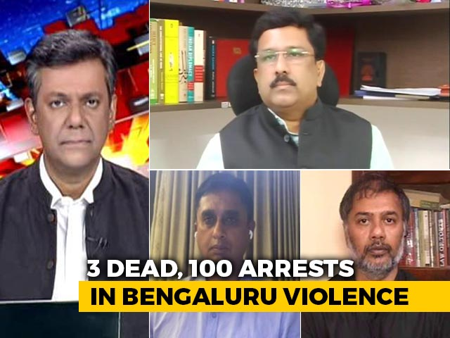 Video: 3 Dead In Bengaluru Clashes, Minister Calls It 'Planned'