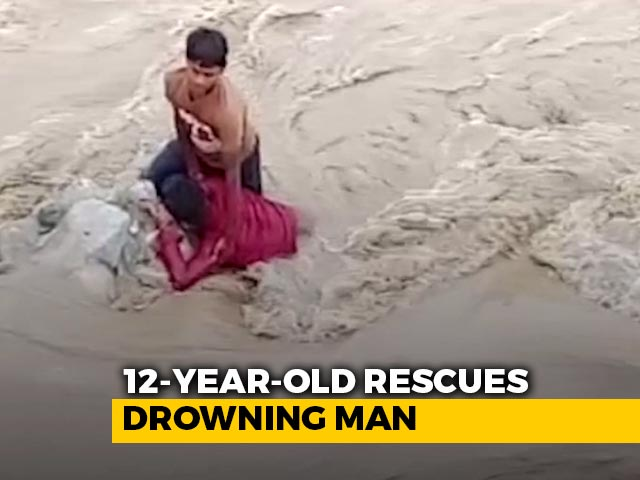 Video : In Nainital, 12-Year-Old Rescues Drowning Man | NDTV Beeps