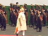 Video : PM Modi Inspects Guard Of Honour
