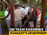 Video : CBI Team At Sushant Singh Rajput's Home In Mumbai For Investigations