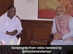 Mata Amritanandamayi, Lata Mangeshkar's Rakhi Greetings For PM Modi