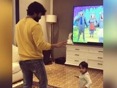 "Ram Charan's ""Dance-Off"" With Tiny Niece Navishka Goes Viral"