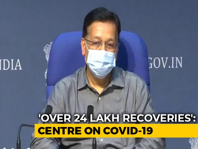 Video : Positive Rate Of COVID-19 Reduced Due To Increase In Tests: Health Ministry