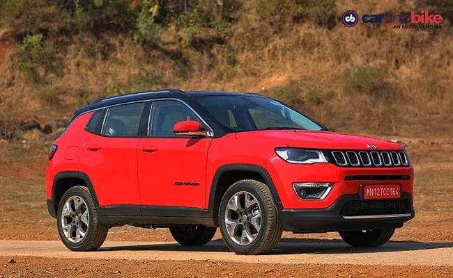 مزایای Jeep Compass SUV تا 31 اکتبر 2020 معتبر است.