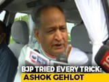 "Video : ""Will Welcome Rebels If Party Forgives Them"": Ashok Gehlot On Truce"