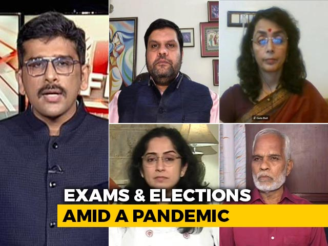 Video: Exams, Elections Amid Covid: Do We Have Plan To Contain The Virus?