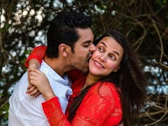"On Neha Dhupia's Birthday, Husband Angad Bedi's Post For His ""No Filter Girl"""