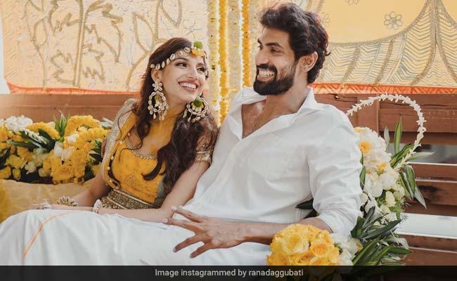 How Miheeka Bajaj And Rana Daggubati's Other Friends Attended The Socially-Distanced Wedding