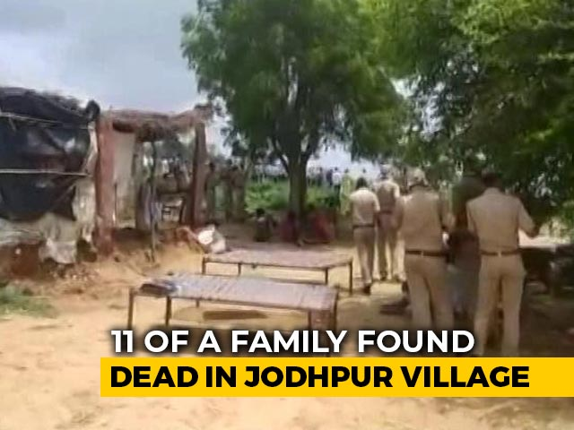 Video : 11 Members Of Pak Hindu Migrant Family Found Dead In Rajasthan: Cops