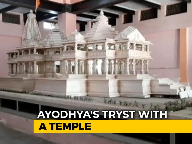 Video : Ayodhya's Tryst With A Temple - The Long Journey of Faith and Politics