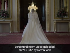 We Get A Glimpse Of Princess Diana's Stunning Wedding Dress In <i>The Crown's</i> Season 4 Teaser